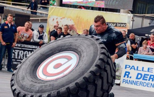 Strongman training Eindhoven