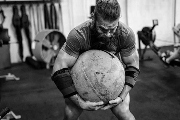 Strongman Training -vrije workout-