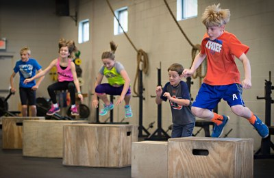 Leuke jeugdlessen CrossFit