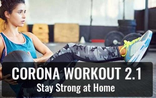 Corona Workout 2.1