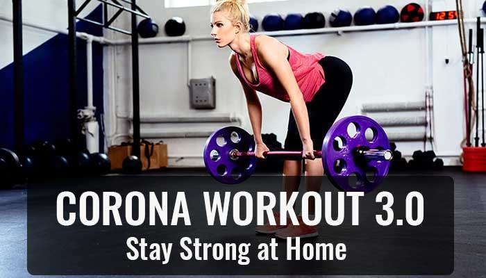 Corona Workout 3.0